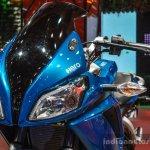 Hero HX250R blue twin headlamp at Auto Expo 2016