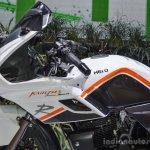 Hero Karizma white and orange dual tone at Auto Expo 2016