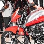 Hero Splendor iSmart 110 alloy wheel drum brake at Auto Expo 2016