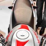 Hero Splendor iSmart 110 pillion grab handle at Auto Expo 2016