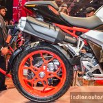 Hero XF3R Concept rear wheel at Auto Expo 2016