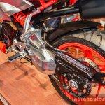 Hero XF3R Concept swingarm at Auto Expo 2016
