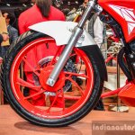 Hero Xtreme 200 S alloy wheel at the Auto Expo 2016