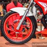 Hero Xtreme 200 S alloy wheel at the Auto Expo 2016