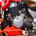 Hero Xtreme 200 S engine at the Auto Expo 2016