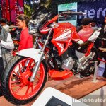 Hero Xtreme 200 S front quarter at the Auto Expo 2016