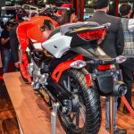 Hero Xtreme 200 S pillion grab rail at the Auto Expo 2016