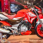 Hero Xtreme 200 S side at the Auto Expo 2016