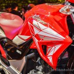 Hero Xtreme 200 S tank shrouds at the Auto Expo 2016