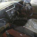 Honda Amaze facelift Blue dashboard spied