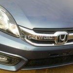 Honda Amaze facelift Blue grille spied