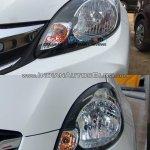Honda Amaze facelift vs current Honda Amaze headlamp