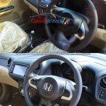 Honda Amaze facelift vs current Honda Amaze interior