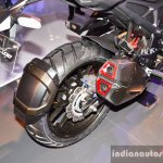 Honda CX-02 Concept twin port exhaust at Auto Expo 2016