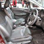 Honda Jazz special edition front seats at Auto Expo 2016