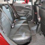 Honda Jazz special edition rear seat at Auto Expo 2016