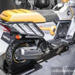 Honda Navi Design Concept semi-scooter exhaust at Auto Expo 2016