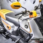 Honda Navi Design Concept semi-scooter front quarter at Auto Expo 2016