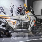Honda Navi Design Concept semi-scooter side at Auto Expo 2016