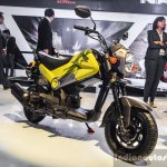 Honda Navi Hopper Green front quarter at Auto Expo 2016