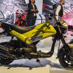 Honda Navi Hopper Green side at Auto Expo 2016
