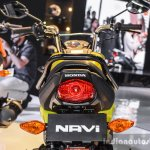 Honda Navi Hopper Green tail lamp at Auto Expo 2016