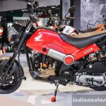 Honda Navi Patriot Red at Auto Expo 2016