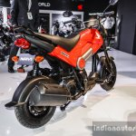 Honda Navi Patriot Red rear quarter at Auto Expo 2016