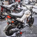 Honda Navi Shasta White rear quarter at Auto Expo 2016