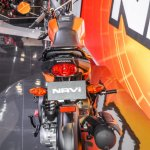 Honda Navi Sparky Orange rear at Auto Expo 2016