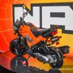 Honda Navi Sparky Orange rear quarter at Auto Expo 2016