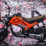 Honda Navi Sparky Orange side at Auto Expo 2016