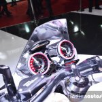 Honda Neowing Concept instrument cluster at Auto Expo 2016