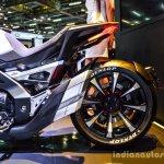 Honda Neowing Concept rear wheel at Auto Expo 2016