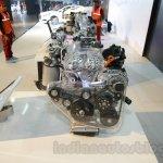 Hyundai 1.0L T-GDI Kappa belts at the Auto Expo 2016