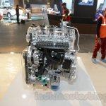 Hyundai 1.4L T-GDI Kappa alternator side at the Auto Expo 2016