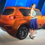 Hyundai Carlino rear three quarter left at the Auto Expo 2016