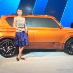 Hyundai Carlino side profile at the Auto Expo 2016