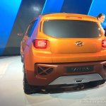 Hyundai Carlino taillamp and bumper at the Auto Expo 2016