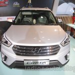 Hyundai Creta front at Auto Expo 2016
