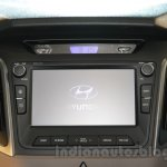 Hyundai Creta infotainment system at Auto Expo 2016
