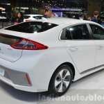 Hyundai Ioniq Electric EV rear three quarter at Geneva Motor Show 2016