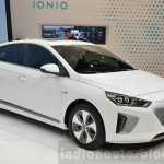 Hyundai Ioniq Electric at Geneva Motor Show 2016