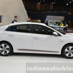 Hyundai Ioniq Electric side at Geneva Motor Show 2016