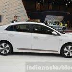 Hyundai Ioniq Electric side at Geneva Motor Show 2016
