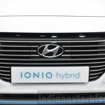 Hyundai Ioniq Hybrid grille at the 2016 Geneva Motor Show