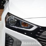 Hyundai Ioniq Hybrid headlamp at the 2016 Geneva Motor Show