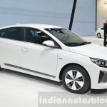 Hyundai Ioniq Plug-in front three quarter view at Geneva Motor Show 2016