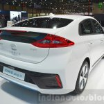 Hyundai Ioniq Plug-in rear at Geneva Motor Show 2016