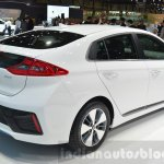 Hyundai Ioniq Plug-in rear three quarters at Geneva Motor Show 2016